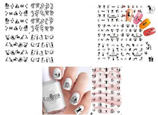 Halloween-Inspired-Nail-Art-Stickers-Decals-For-Kids-2019-F