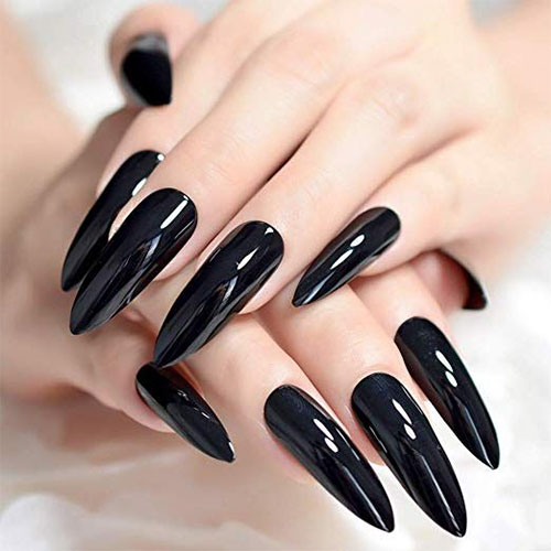 Halloween-Themed-Acrylic-Gel-Nail-Stickers-Designs-Trends-2019-2