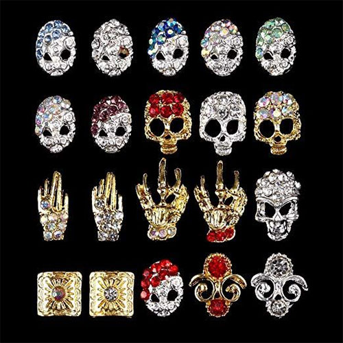 Halloween-Themed-Nail-Charms-2019-Nail-Accessories-1