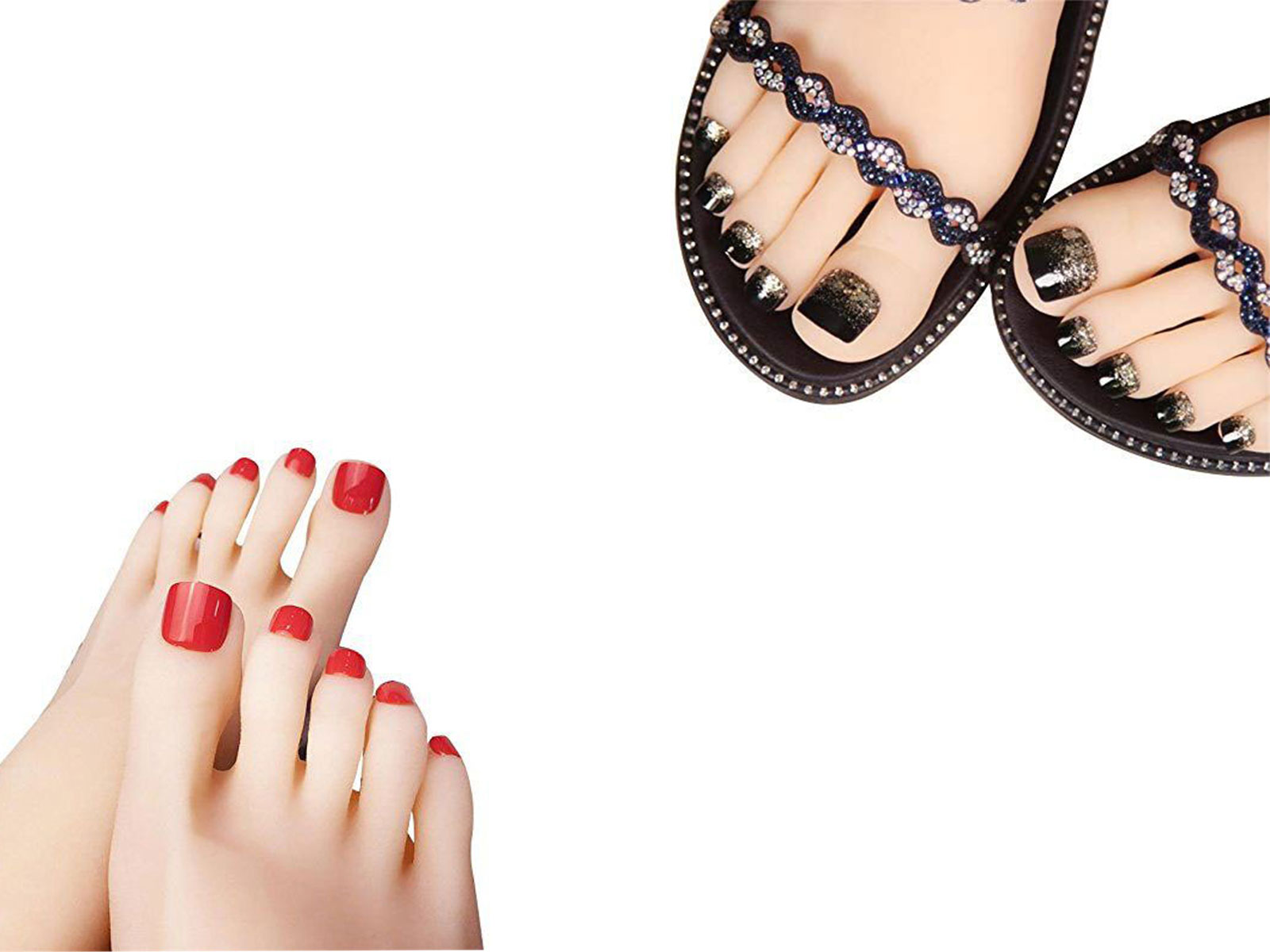 Halloween-Themed-Toe-Nails-Art-Stickers-Decals-Designs-Ideas-2019-F