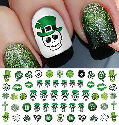 Skull-Nail-Art-Stickers-Designs-Trends-For-Halloween-2019 -Monster-Nails-1