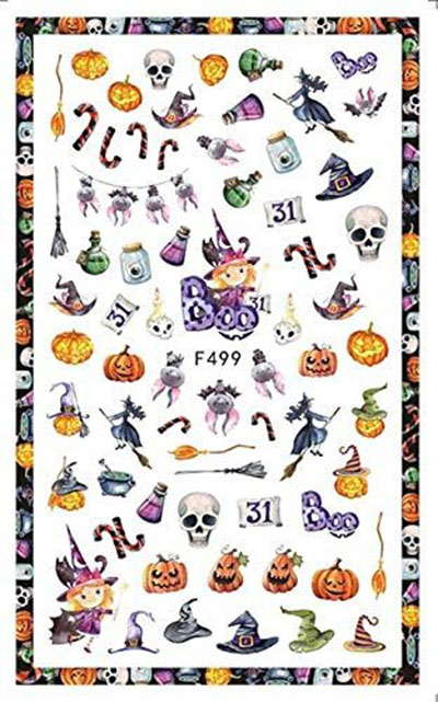 Very-Simple-Halloween-Inspired-Nails-Art-Stickers-2019-3