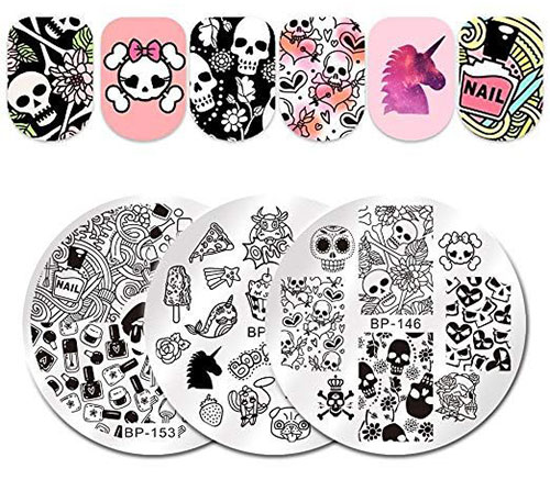 10-Best-Halloween-Stamping-Kits-For-Girls-Women-2019-1