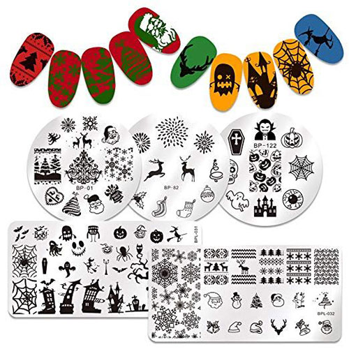 10-Best-Halloween-Stamping-Kits-For-Girls-Women-2019-2