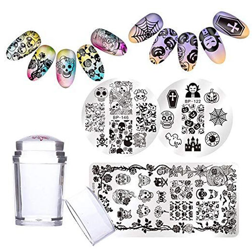 10-Best-Halloween-Stamping-Kits-For-Girls-Women-2019-3