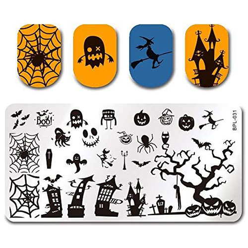 10-Best-Halloween-Stamping-Kits-For-Girls-Women-2019-5