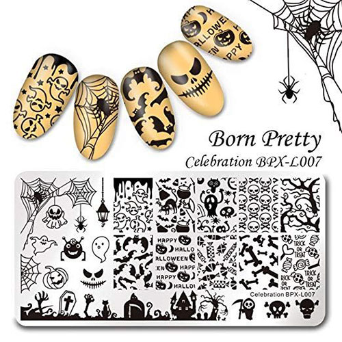 10-Best-Halloween-Stamping-Kits-For-Girls-Women-2019-7