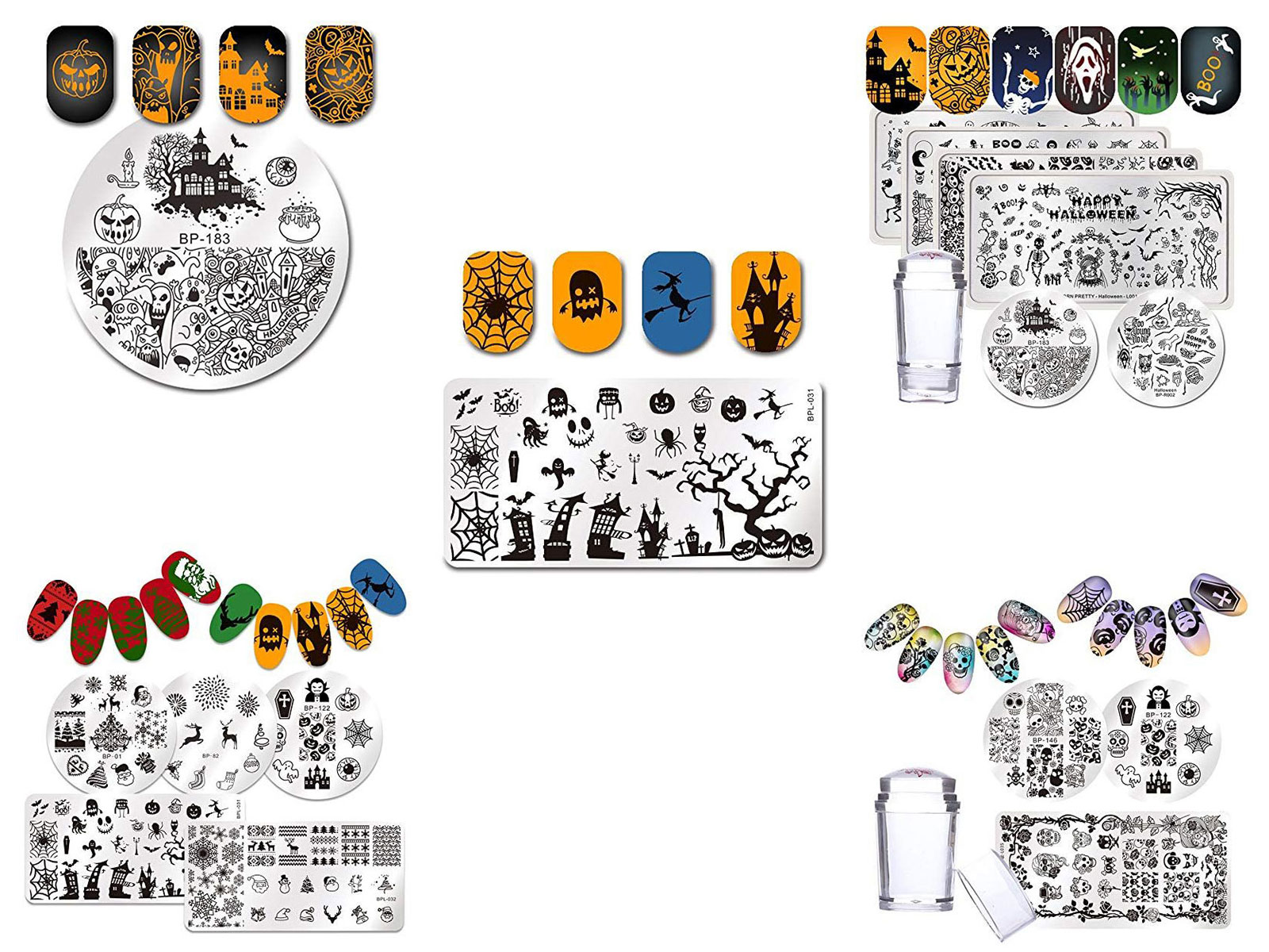 10-Best-Halloween-Stamping-Kits-For-Girls-Women-2019-F