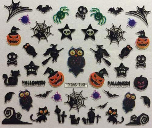 10-Halloween-Inspired-3d-Nail-Art-Decals-2019-3D-Nails-1