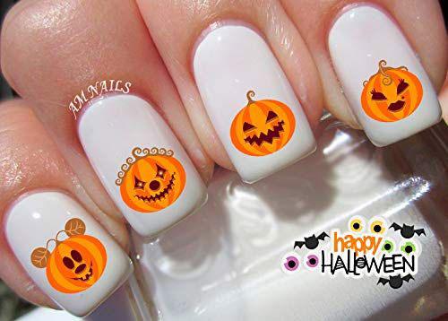 10-Halloween-Pumpkin-Nail-Art-Decals-Designs-Trends-2019-11