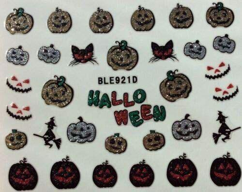 10-Halloween-Pumpkin-Nail-Art-Decals-Designs-Trends-2019-3