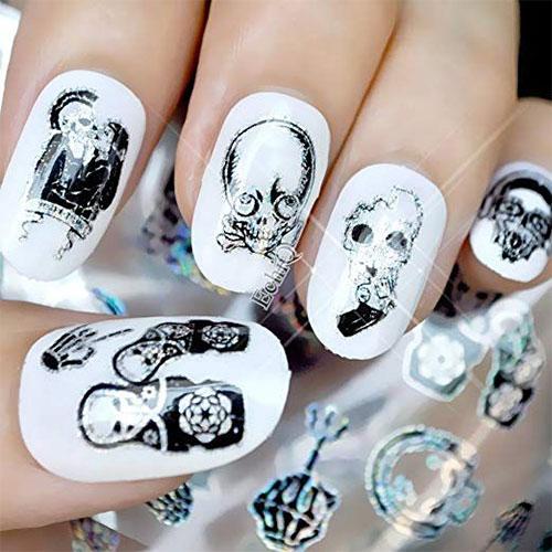 12-Halloween-Zombie-Nails-Art-Decals-Designs-Trends-2019-3