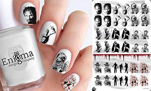 12-Halloween-Zombie-Nails-Art-Decals-Designs-Trends-2019-5