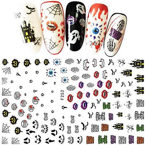 12-Halloween-Zombie-Nails-Art-Decals-Designs-Trends-2019-6