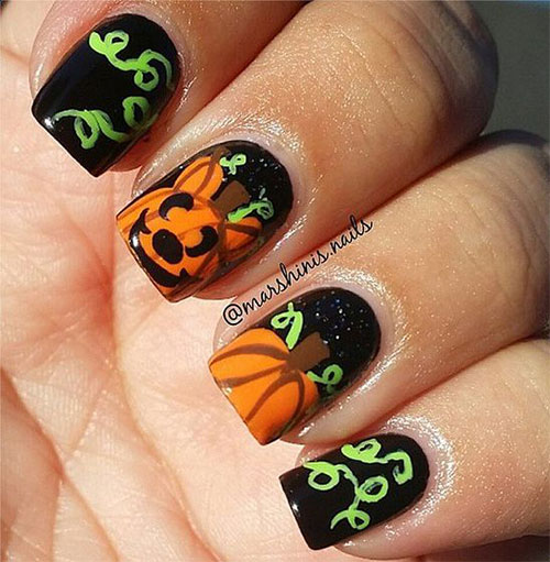 18-Halloween-Pumpkin-Nails-Art-Designs-Ideas-2019-10