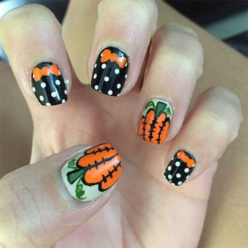 18-Halloween-Pumpkin-Nails-Art-Designs-Ideas-2019-13