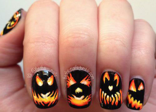 18-Halloween-Pumpkin-Nails-Art-Designs-Ideas-2019-18