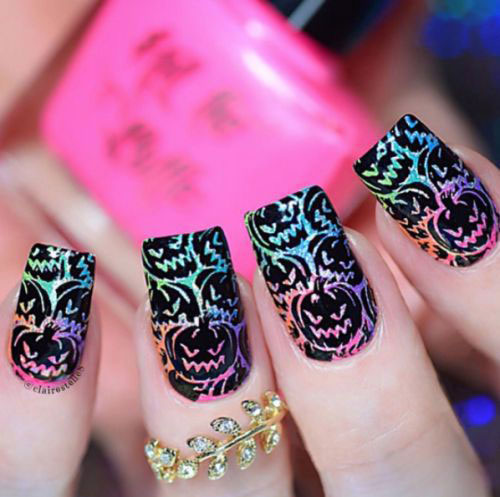 18-Halloween-Pumpkin-Nails-Art-Designs-Ideas-2019-8