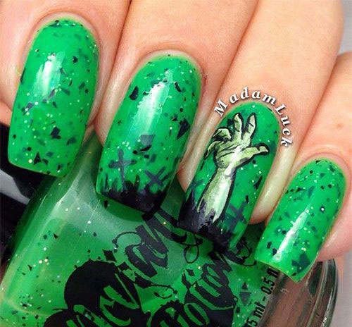 25-Halloween-Inspired-Zombie-Nails-Art-Designs-Ideas-2019-The-Walking-Dead-1