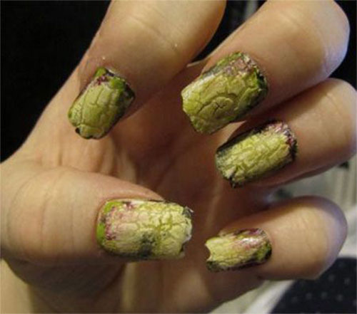 25-Halloween-Inspired-Zombie-Nails-Art-Designs-Ideas-2019-The-Walking-Dead-10