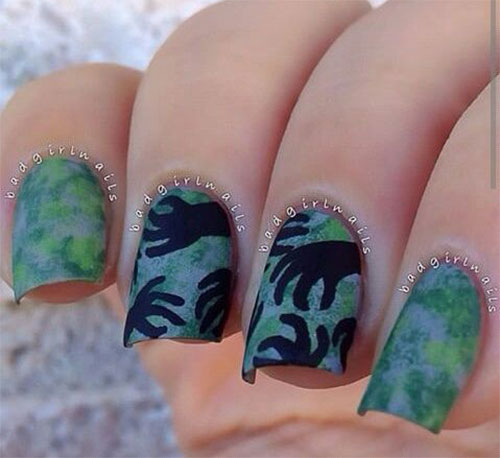 25-Halloween-Inspired-Zombie-Nails-Art-Designs-Ideas-2019-The-Walking-Dead-15