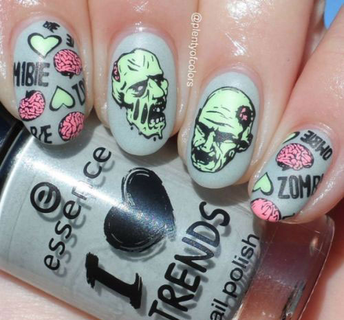 25-Halloween-Inspired-Zombie-Nails-Art-Designs-Ideas-2019-The-Walking-Dead-2