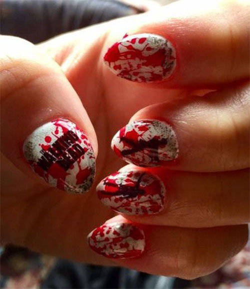 25-Halloween-Inspired-Zombie-Nails-Art-Designs-Ideas-2019-The-Walking-Dead-21