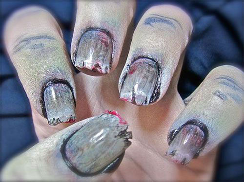 25-Halloween-Inspired-Zombie-Nails-Art-Designs-Ideas-2019-The-Walking-Dead-5