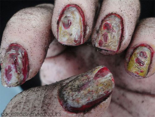 25-Halloween-Inspired-Zombie-Nails-Art-Designs-Ideas-2019-The-Walking-Dead-8