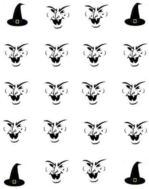 Halloween-Witch-Nail-Art-Decals-Designs-Ideas-2019-5