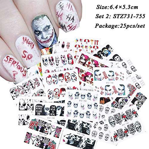 Very-Simple-Halloween-Nail-Art-Decals-Decorations-2019-1