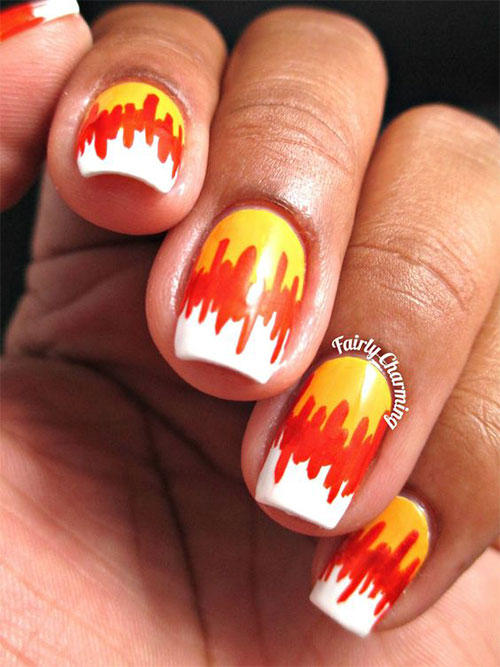 20-Very-Easy-Simple-Halloween-Candy-Corn-Nails-Designs-Ideas-2019-11