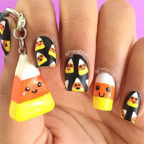 20-Very-Easy-Simple-Halloween-Candy-Corn-Nails-Designs-Ideas-2019-13
