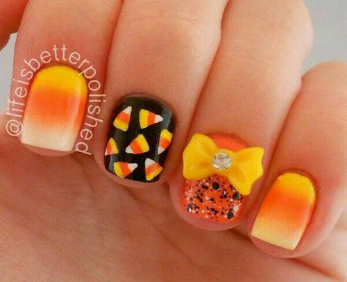 20-Very-Easy-Simple-Halloween-Candy-Corn-Nails-Designs-Ideas-2019-15