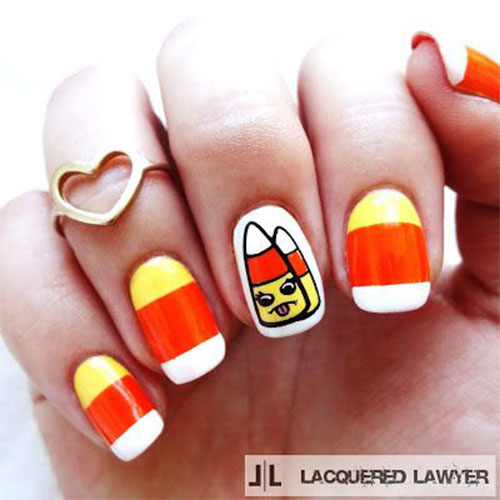 20-Very-Easy-Simple-Halloween-Candy-Corn-Nails-Designs-Ideas-2019-16