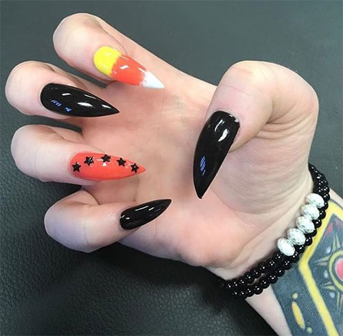 20-Very-Easy-Simple-Halloween-Candy-Corn-Nails-Designs-Ideas-2019-17