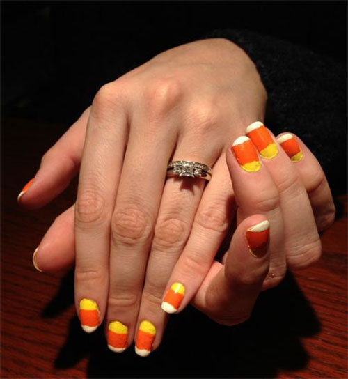 20-Very-Easy-Simple-Halloween-Candy-Corn-Nails-Designs-Ideas-2019-18