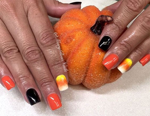 20-Very-Easy-Simple-Halloween-Candy-Corn-Nails-Designs-Ideas-2019-19