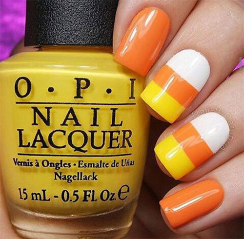 20-Very-Easy-Simple-Halloween-Candy-Corn-Nails-Designs-Ideas-2019-2