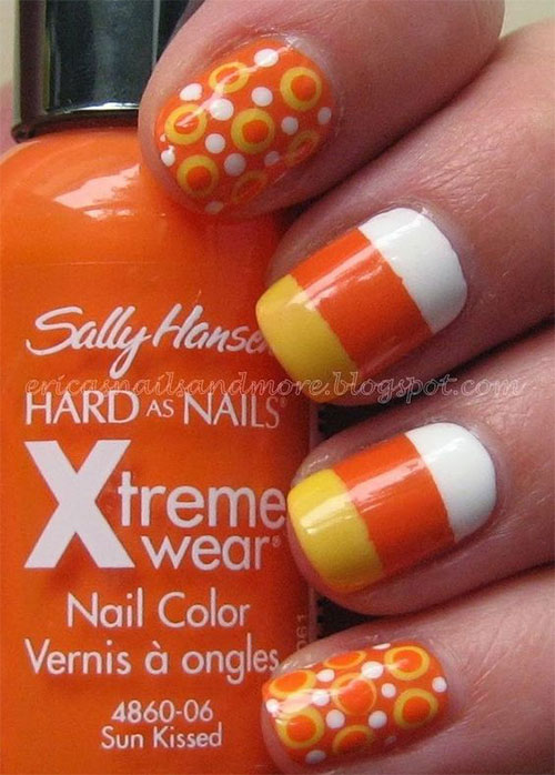 20-Very-Easy-Simple-Halloween-Candy-Corn-Nails-Designs-Ideas-2019-3