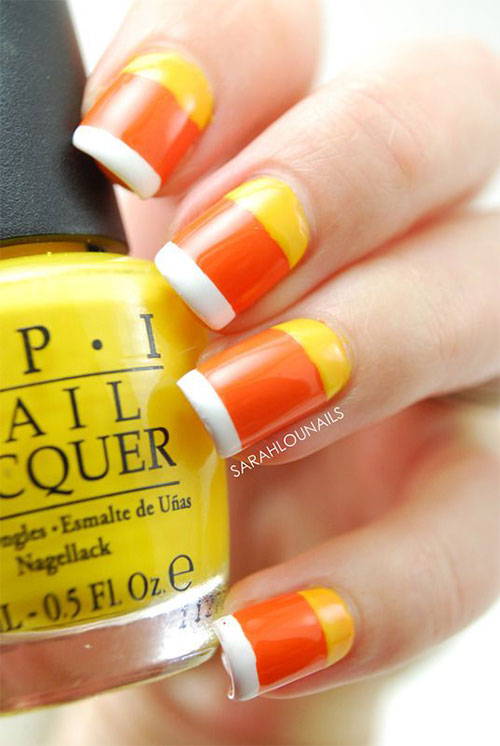 20-Very-Easy-Simple-Halloween-Candy-Corn-Nails-Designs-Ideas-2019-4