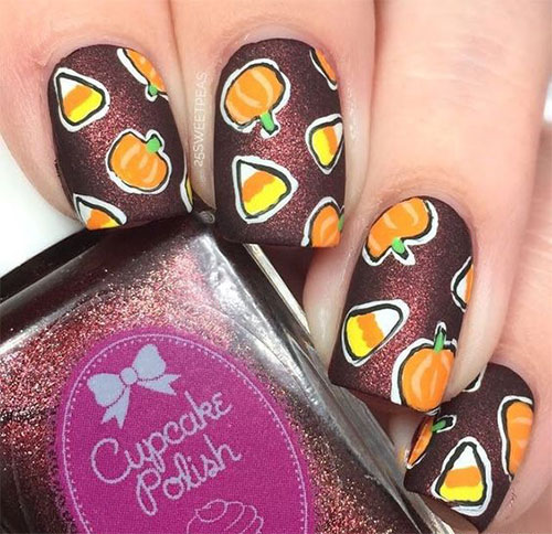 20-Very-Easy-Simple-Halloween-Candy-Corn-Nails-Designs-Ideas-2019-8