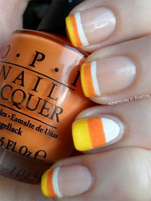20-Very-Easy-Simple-Halloween-Candy-Corn-Nails-Designs-Ideas-2019-9
