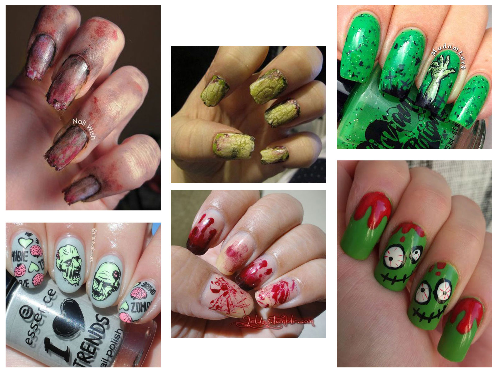 25-Halloween-Inspired-Zombie-Nails-Art-Designs-Ideas-2019-The-Walking-Dead-F