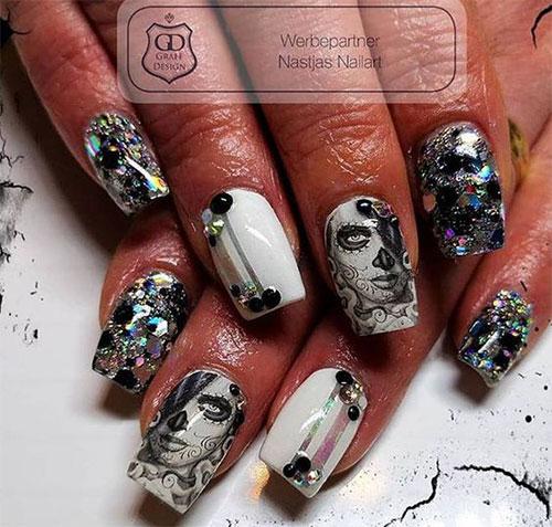 25-Halloween-Skull-Nail-Art-Designs-Ideas-Trends-2019-Monster-Nails-11