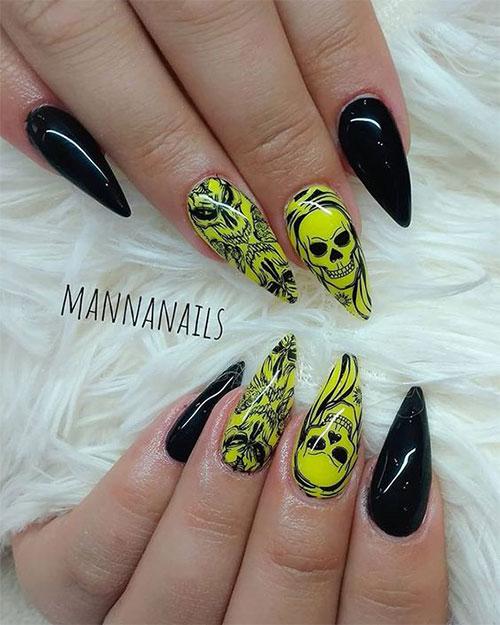 25-Halloween-Skull-Nail-Art-Designs-Ideas-Trends-2019-Monster-Nails-17