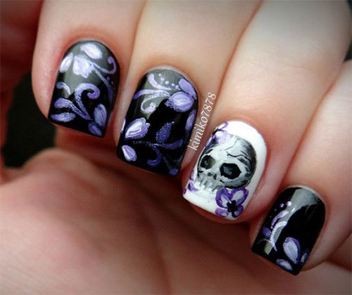 25-Halloween-Skull-Nail-Art-Designs-Ideas-Trends-2019-Monster-Nails-21