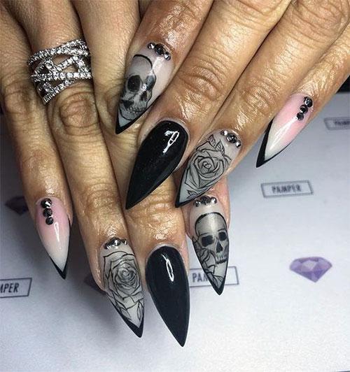 25-Halloween-Skull-Nail-Art-Designs-Ideas-Trends-2019-Monster-Nails-7