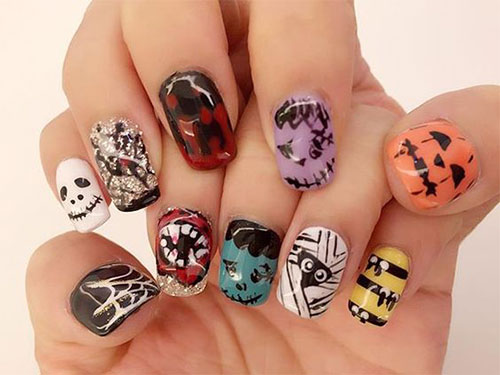 30-Halloween-Gel-Nails-Art-Designs-Ideas-Trends-2019-22