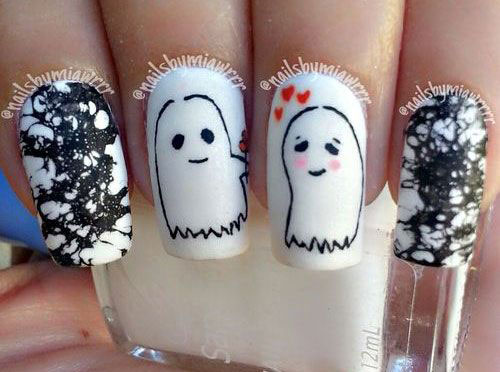 30-Scary-Halloween-Ghost-Nail-Art-Designs-Ideas-2019-Boo-Nails-12